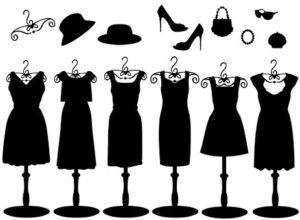 Sukienka wizytowa w dużym rozmiarze