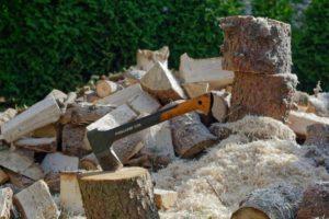 Solidny rębak do drewna
