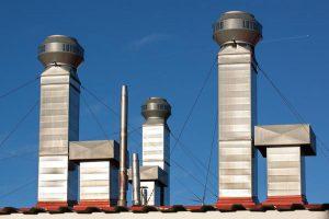 System wentylacji do zakładu przemysłowego