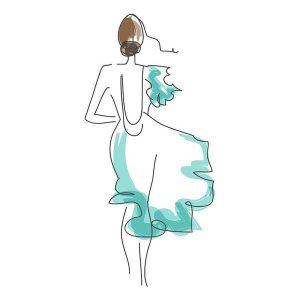 Olśniewająca suknia na wieczór