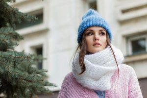 Ciepła czapka na mroźne dni
