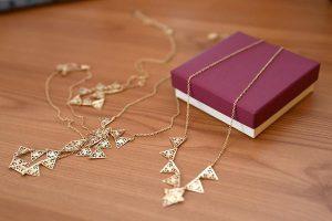 Złote naszyjniki dla kobiet w każdym wieku