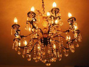 Kryształowe lampy w naszych domach