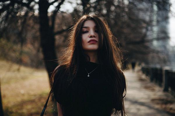 włosy słowiańskie ciemne
