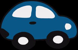 Samochód z akumulatorem dla najmłodszych